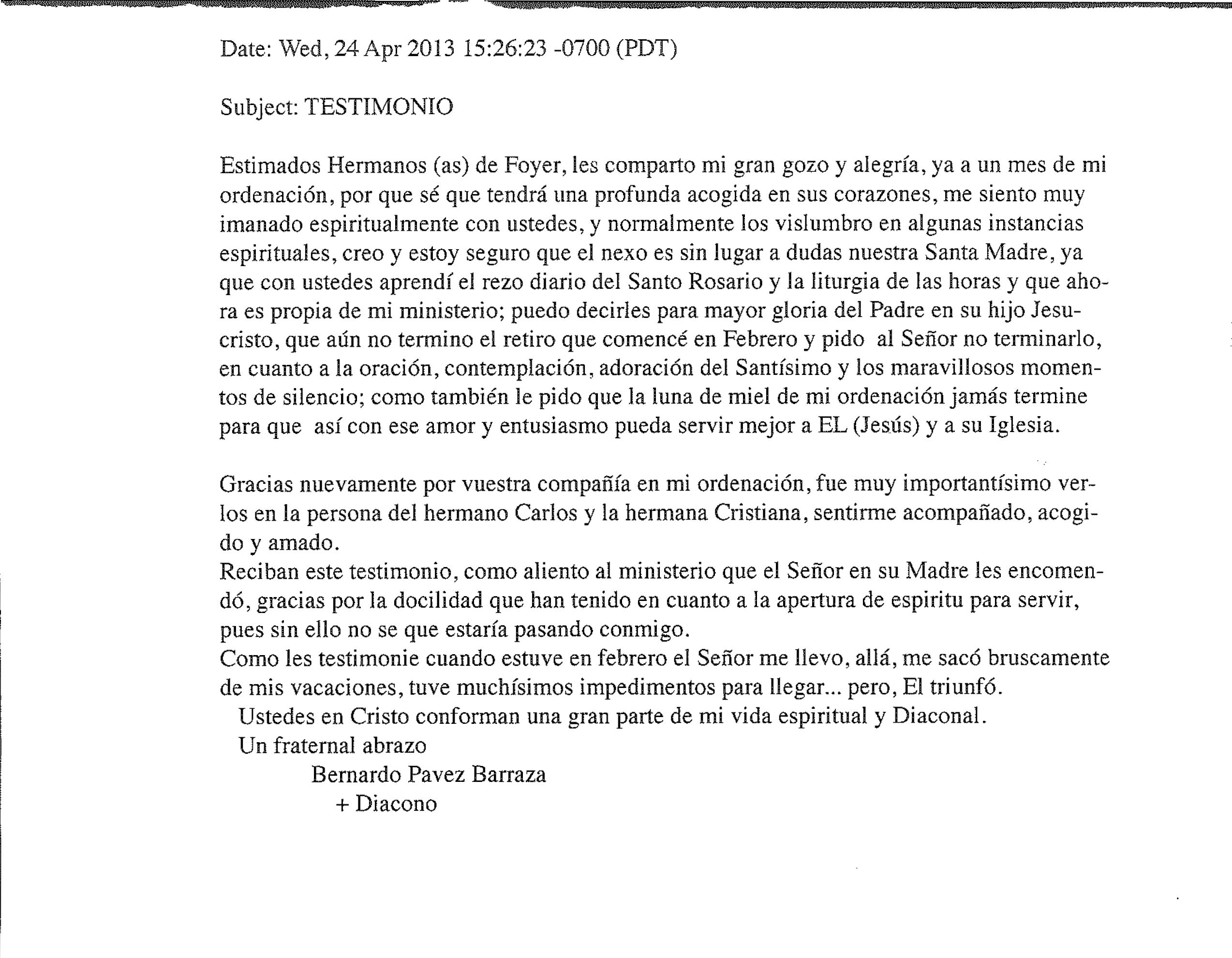 10c Bernardo Pávez Diácono
